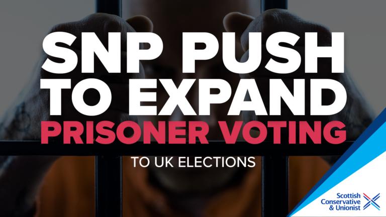 PRISONER VOTING 2 Scottish Conservatives